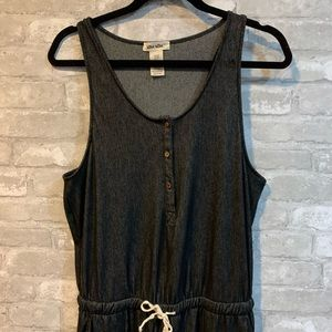 shosho Other - Shosho L Faded Black Sleeveless Romper NWOT